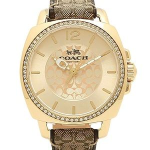 Coach Boyfriend watch  signature watch